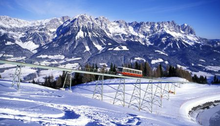 Lyžařské středisko Ellmau - fotografie