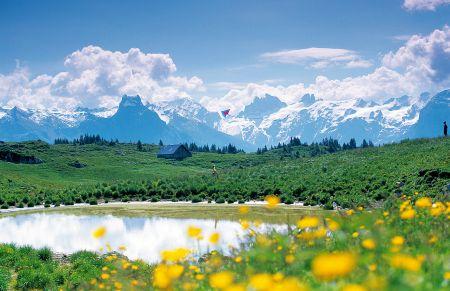 Lyžařské středisko Engelberg - fotografie