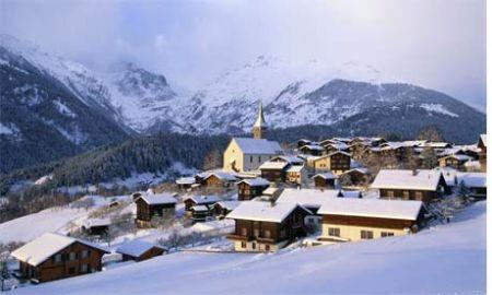 Lyžařské středisko Ernen - fotografie