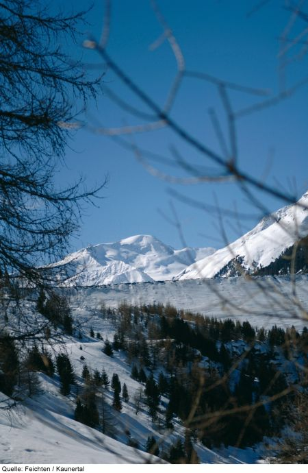 Lyžařské středisko Feichten im Kaunertal - fotografie