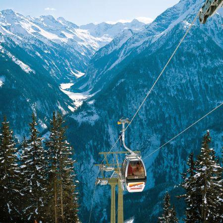 Lyžařské středisko Finkenberg - fotografie