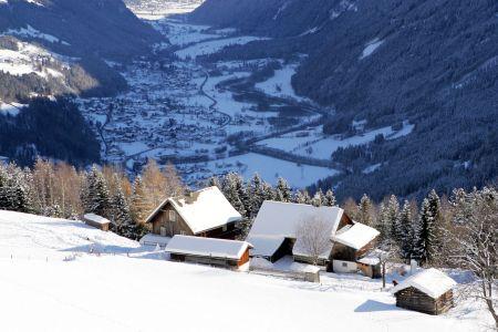 Lyžařské středisko Flattach - fotografie