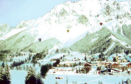 Lyžařské středisko Flirsch am Arlberg - fotografie
