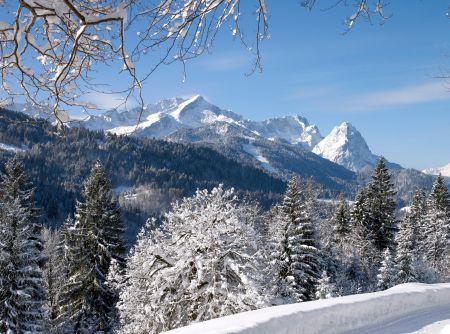 Lyžařské středisko Garmisch - Partenkirchen - fotografie
