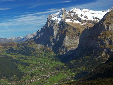 Lyžařské středisko Grindelwald - fotografie