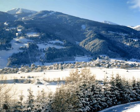 Lyžařské středisko Haus - Aich - Gössenberg - fotografie