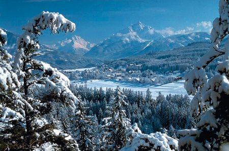 Lyžařské středisko Igls - fotografie
