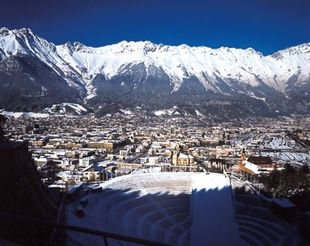 Lyžařské středisko Innsbruck - fotografie