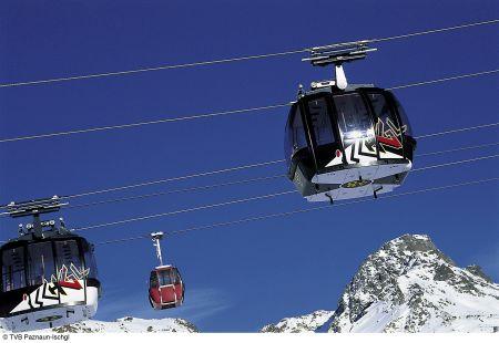 Lyžařské středisko Ischgl - fotografie