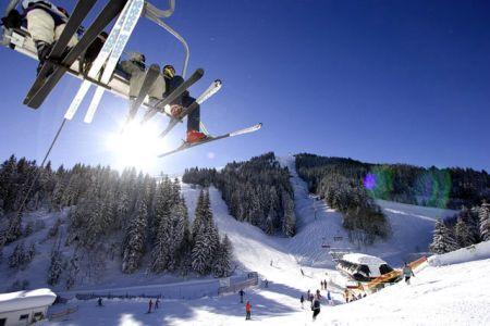 Lyžařské středisko Jochberg - fotografie