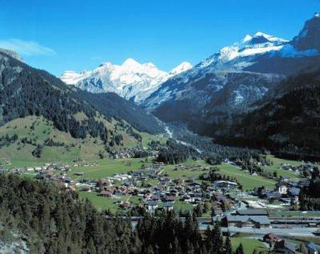 Lyžařské středisko Kandersteg - fotografie