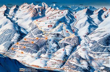 Lyžařské středisko Kappl - fotografie