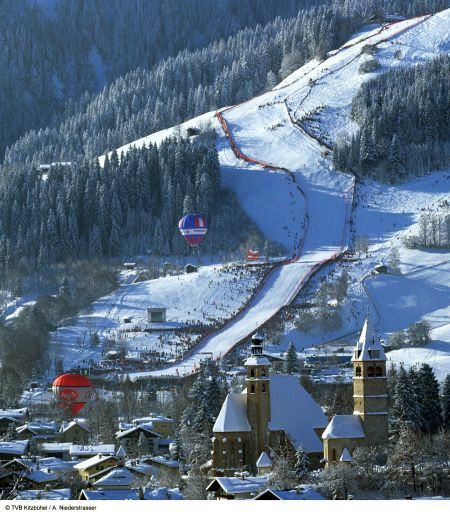 Lyžařské středisko Kitzbühel - fotografie
