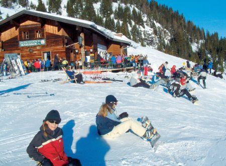 Lyžařské středisko Kleinarl - fotografie