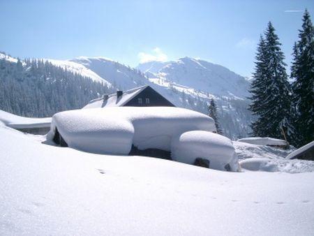 Lyžařské středisko Kolsassberg - fotografie