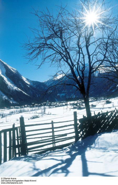 Lyžařské středisko Krimml - fotografie
