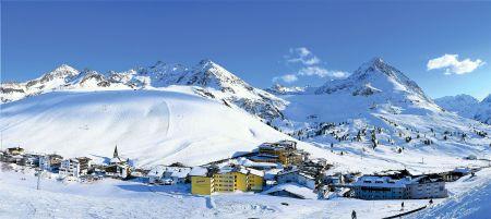 Lyžařské středisko Kühtai - fotografie