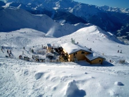 Lyžařské středisko La Tzoumaz - fotografie