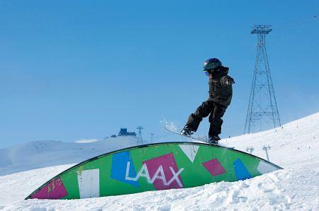 Lyžařské středisko Laax - fotografie