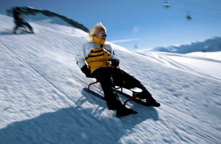 Lyžařské středisko Lenk im Simmental - fotografie