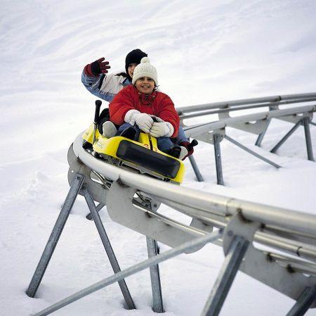 Lyžařské středisko Lenzerheide - fotografie