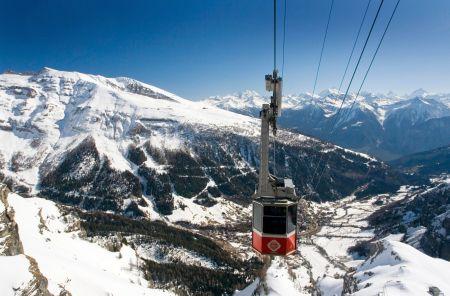 Lyžařské středisko Leukerbad - fotografie