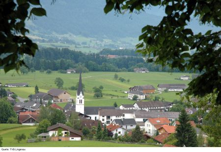 Lyžařské středisko Lingenau - fotografie