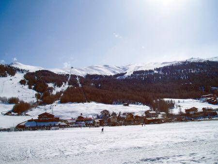 Lyžařské středisko Livigno - fotografie