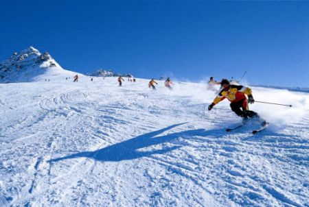 Lyžařské středisko Nauders - fotografie