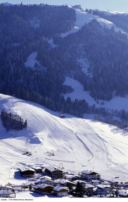 Lyžařské středisko Niederau - fotografie