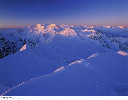 Lyžařské středisko Obergurgl - fotografie