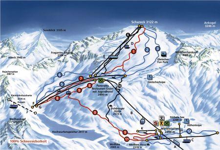 Lyžařské středisko Obervellach - fotografie