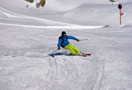 Lyžařské středisko Oetz - fotografie