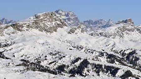 Lyžařské středisko Passo Tonale - fotografie