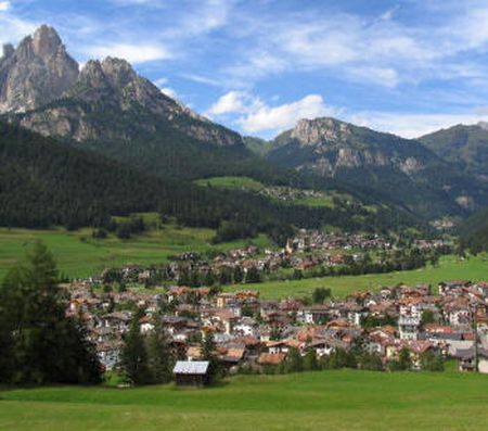 Lyžařské středisko Pozza di Fassa - fotografie