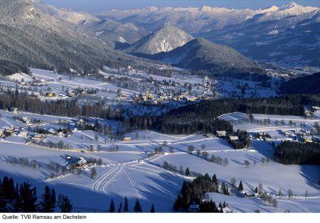 Lyžařské středisko Ramsau am Dachstein - fotografie