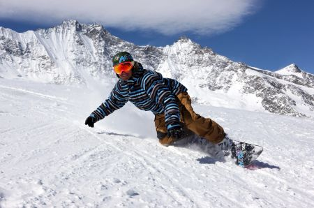 Lyžařské středisko Randa - fotografie