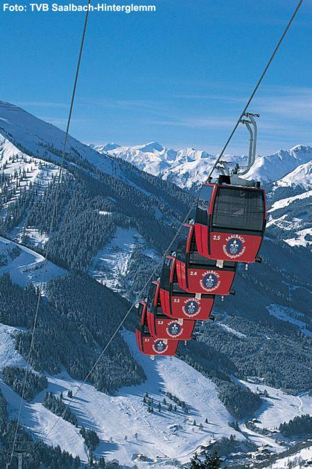 Lyžařské středisko Saalbach - fotografie
