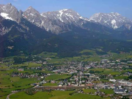 Lyžařské středisko Saalfelden - fotografie