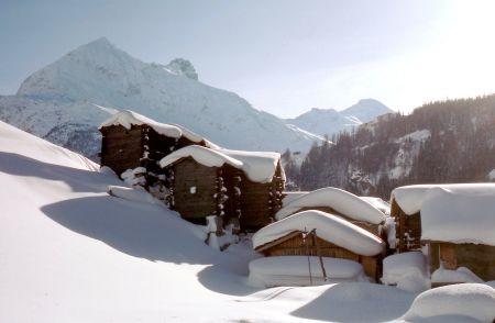 Lyžařské středisko Saas Fee - fotografie
