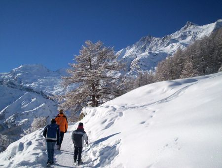 Lyžařské středisko Saas Grund - fotografie