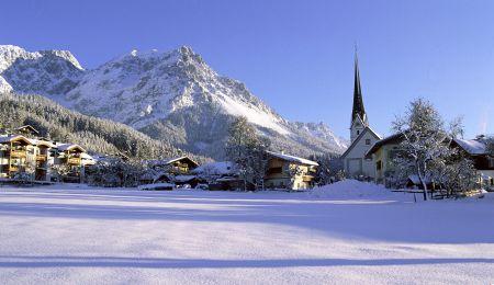 Lyžařské středisko Scheffau - fotografie