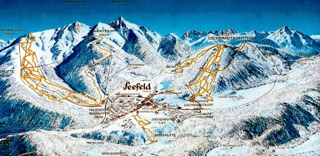 Lyžařské středisko Seefeld - fotografie