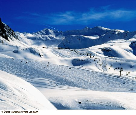 Lyžařské středisko Sölden - fotografie