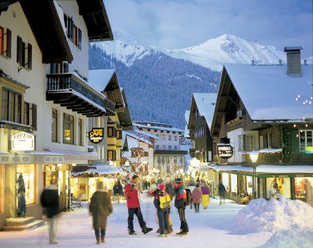 Lyžařské středisko St. Anton am Arlberg - fotografie
