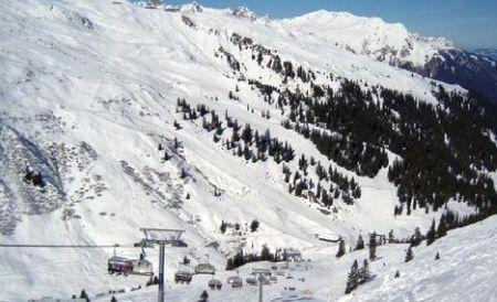 Lyžařské středisko St. Gallenkirch - fotografie