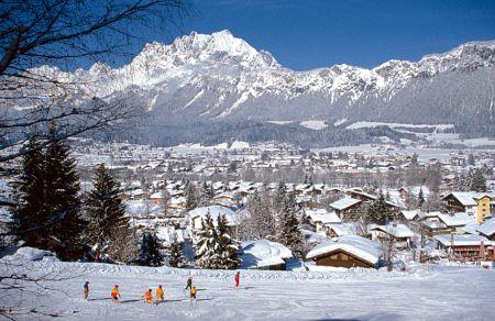 Lyžařské středisko St. Johann in Tirol - fotografie
