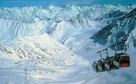 Lyžařské středisko St. Leonhard im Pitztal - fotografie