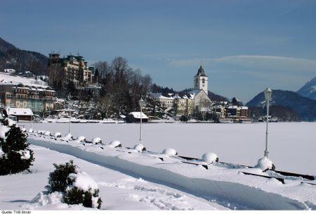 Lyžařské středisko Strobl am Wolfgangsee - fotografie