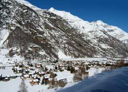 Lyžařské středisko Täsch bei Zermatt - fotografie